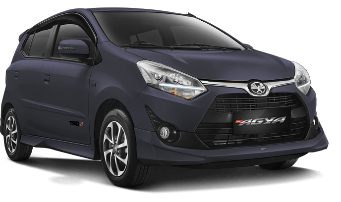 Toyota Agya Grey