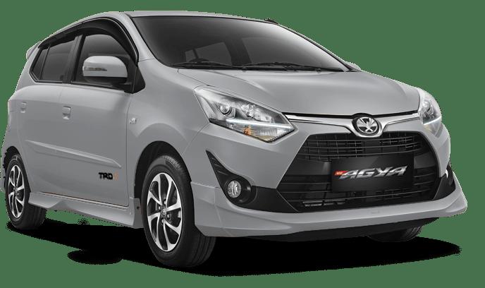 Toyota Agya Silver