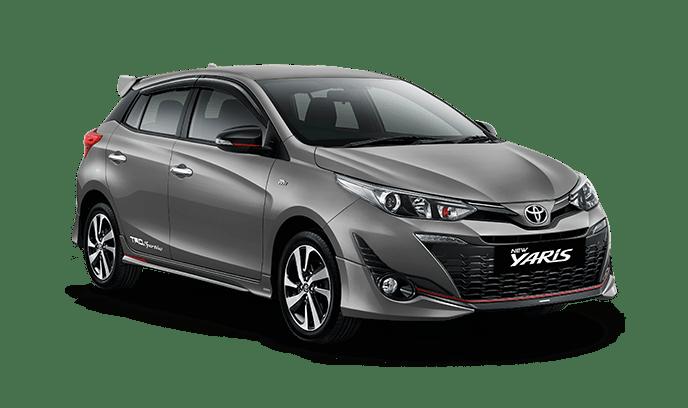 Toyota Yaris Grey