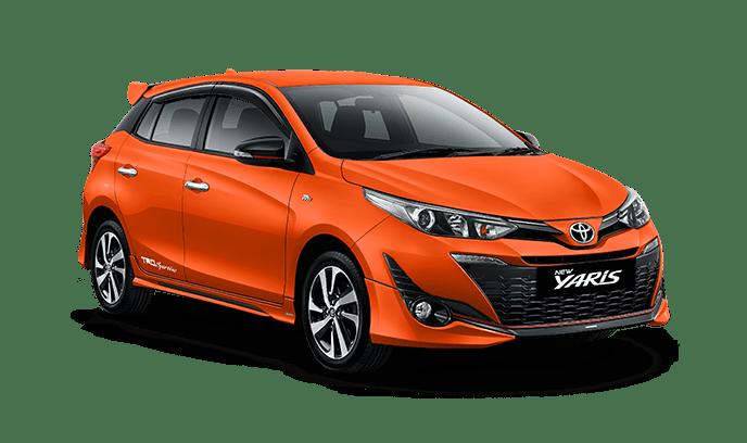 Toyota Yaris Orange