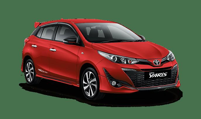 Toyota New Yaris Red
