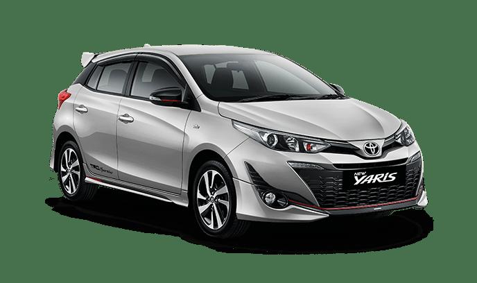 Toyota Yaris Silver