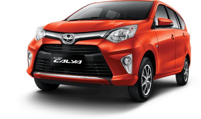 Toyota New Calya Orange