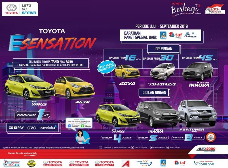 Promo Toyota Esensation