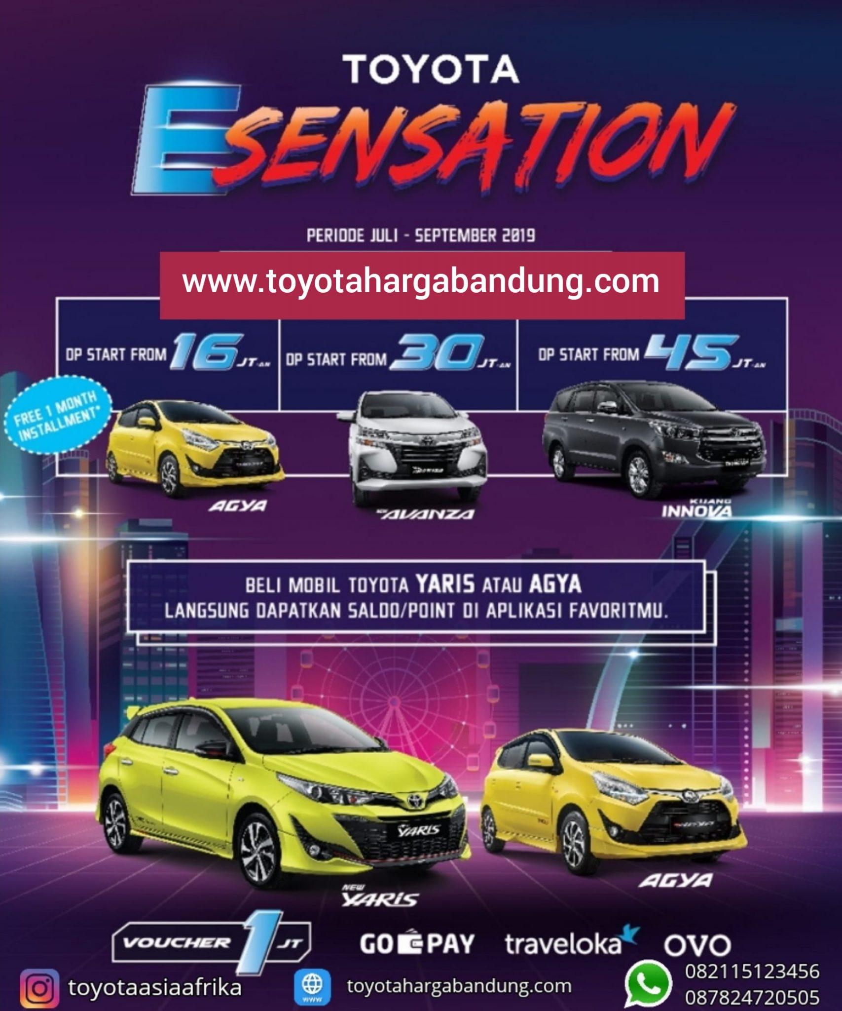 Promo Toyota Esensation 2