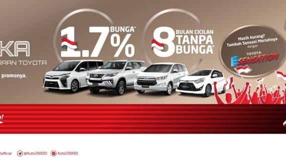 Paket Promo Kredit Toyota