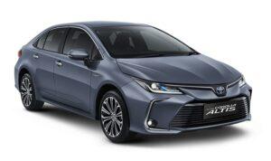 Toyota New Altis Calestite Grey Metalic