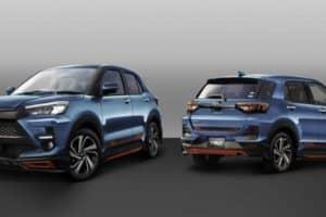 Toyota Raize TRD dan Modelista