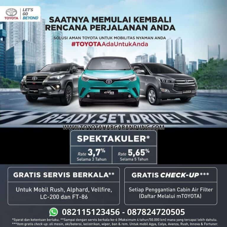 Promo Toyota Bandung - Toyota Ada Untuk Anda
