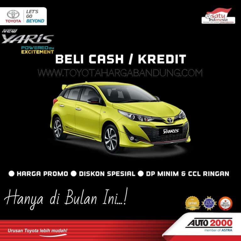 Promo Toyota Yaris Bandung