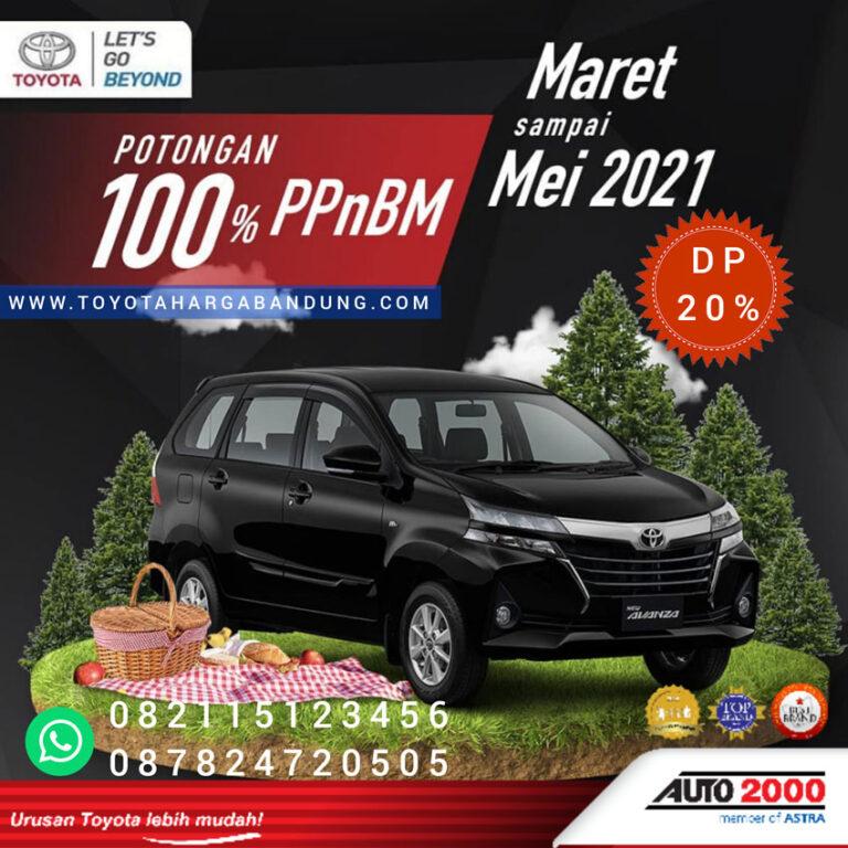Promo Toyota Avanza Bandung-Promo PPnBm Toyota