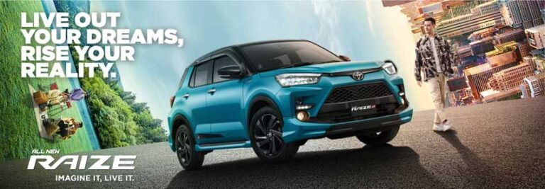 Promo Toyota Raize Bandung